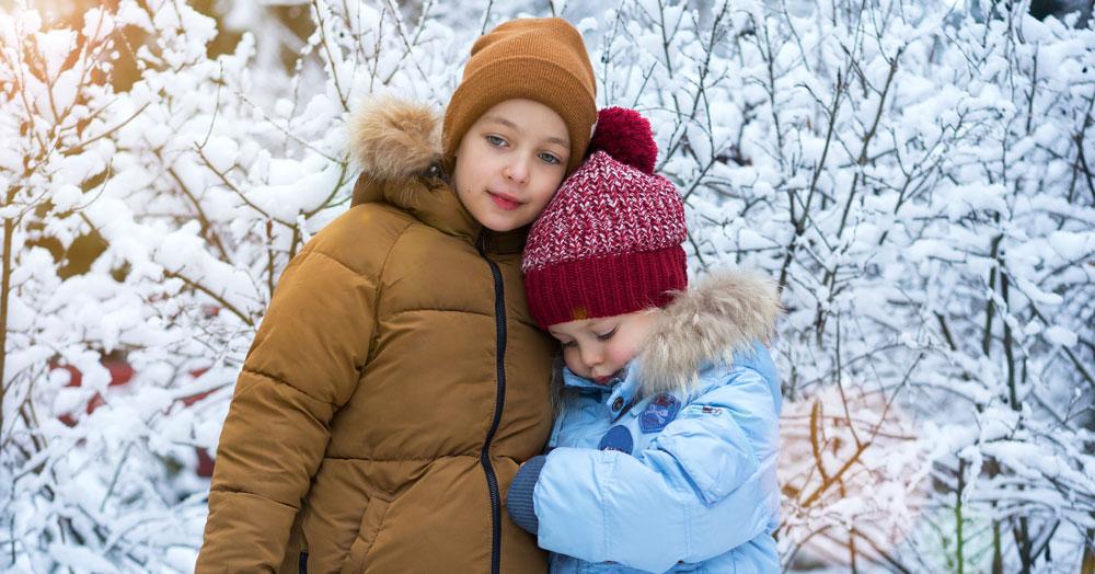 sad kids child custody during the holidays