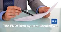fdd item by item breakdown by franchise attorney joel d rosen