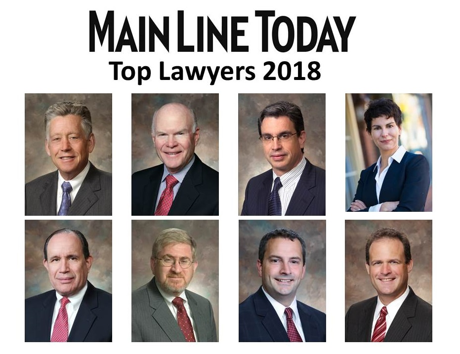 High Swartz Main Line Today top lawyers 2019