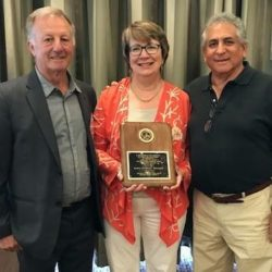 Mary Cushing Doherty Receives the Eric Turner Memorial Award from the PBA