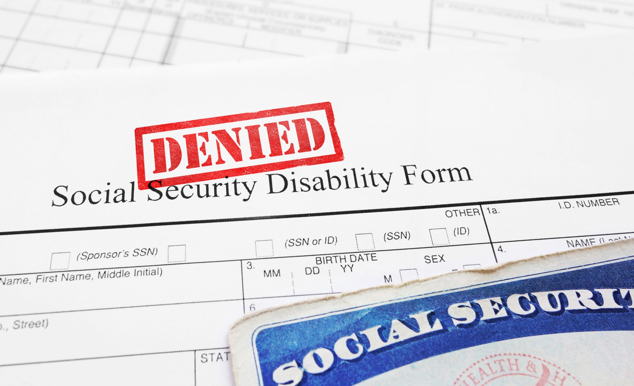 social security benefits denied