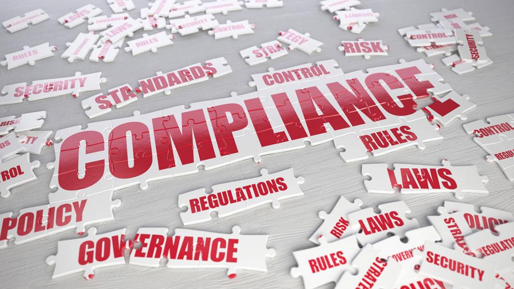 business compliance puzzle