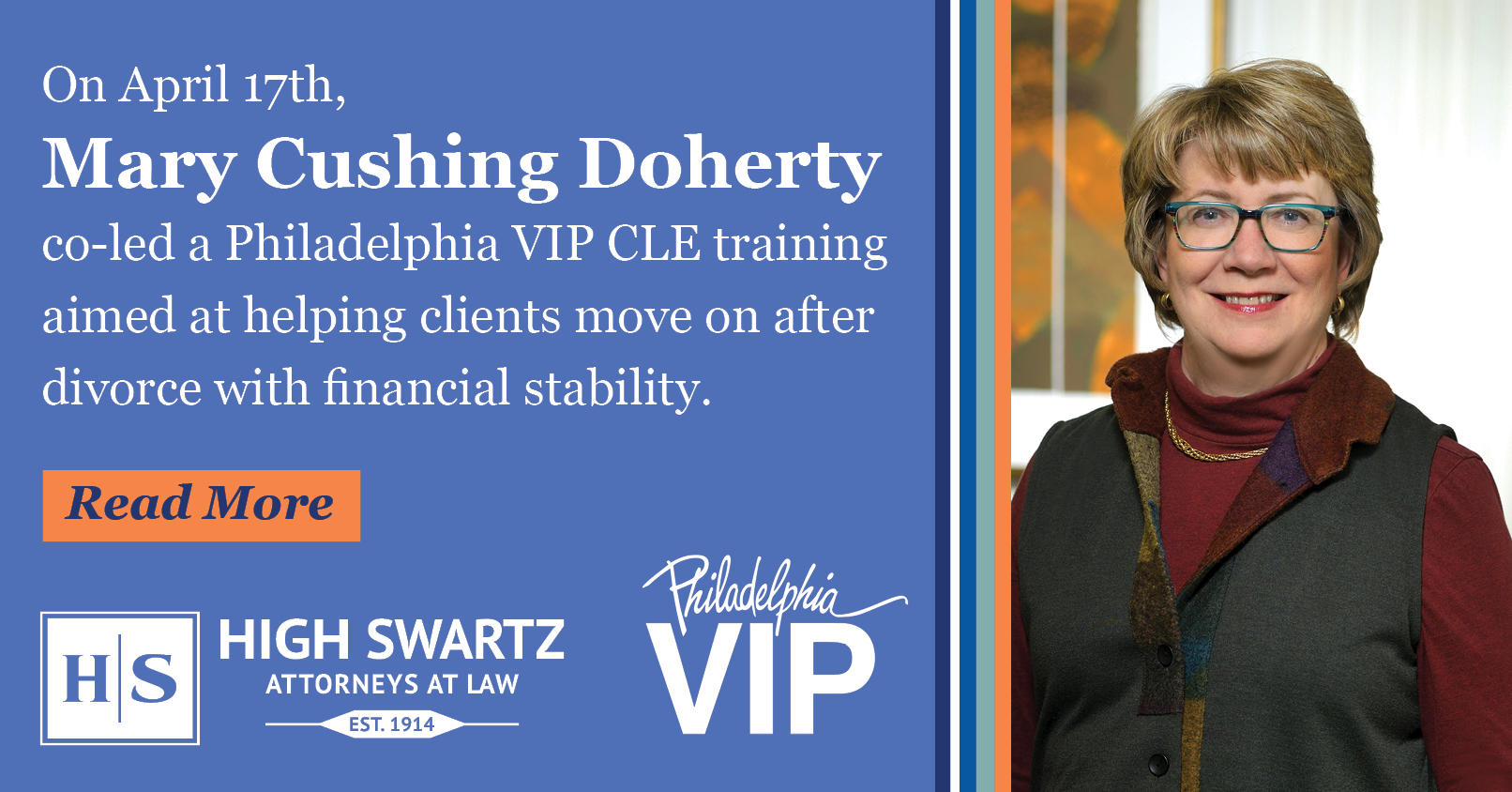 Mary Cushing Doherty leads CLE Training on Helping Clients Achieve Financial Stability After Divorce