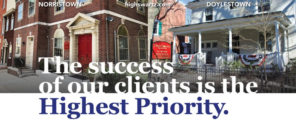 high swartz law firm press contacts montgomery and bucks county office