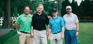4 high swartz lawyers at the 2018 legal aid golf classic