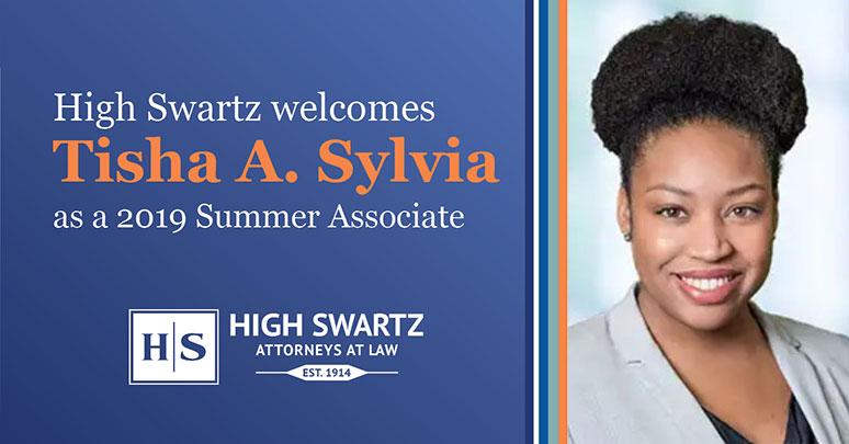tisha sylvia summer associate high swartz law firm norristown pa