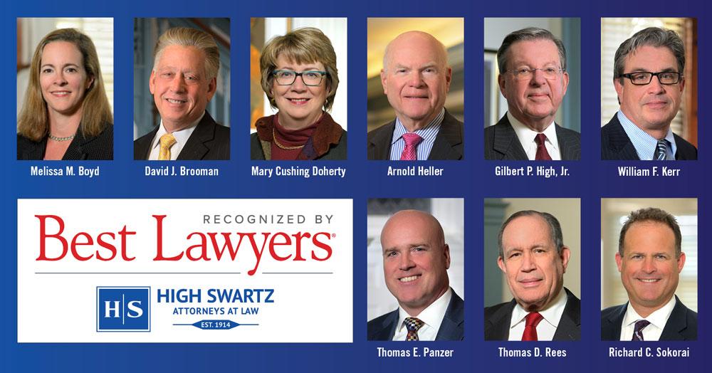 Best Of Bucks 2020 Best Lawyers in America of 2020 | Pennsylvania | High Swartz
