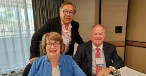 mary cushing doherty Dr. Larry Fong Gordon D. Cruse speak at AFCC AAML conference in San Diego 2019