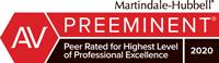 high swartz av preeminent firm rating 2020