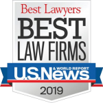 Best Lawyers Best Law Firms Badge for 2019